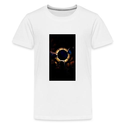 Find Light in the Dark - Teenage Premium T-Shirt