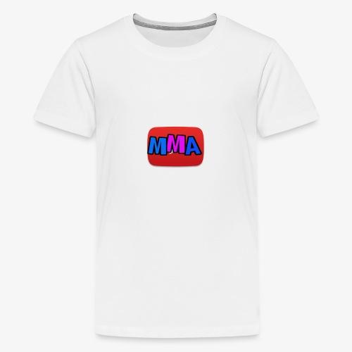 MMA Logo - Premium T-skjorte for tenåringer