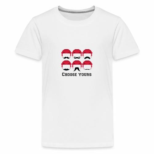 novembre et moustache - T-shirt Premium Ado