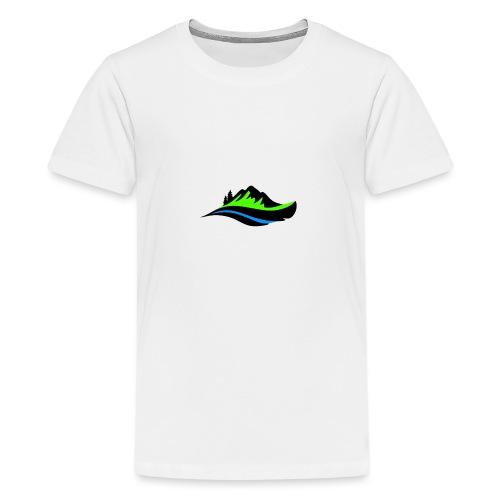 Modern Hoodie Unisex - Premium-T-shirt tonåring