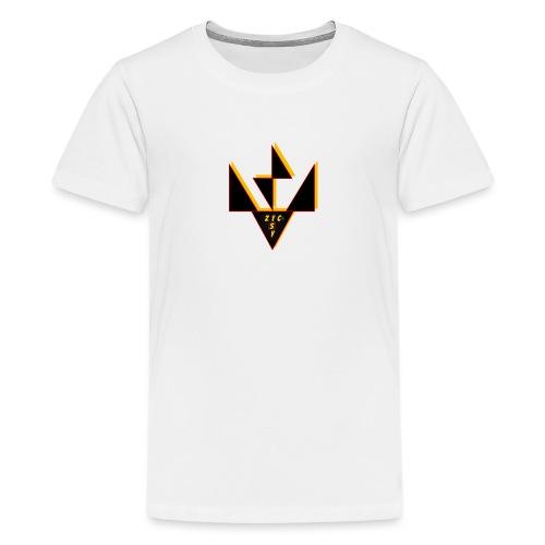 Zic Isy JP noir - T-shirt Premium Ado