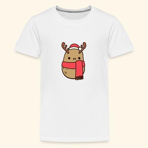 Papa Navideña - Camiseta premium adolescente