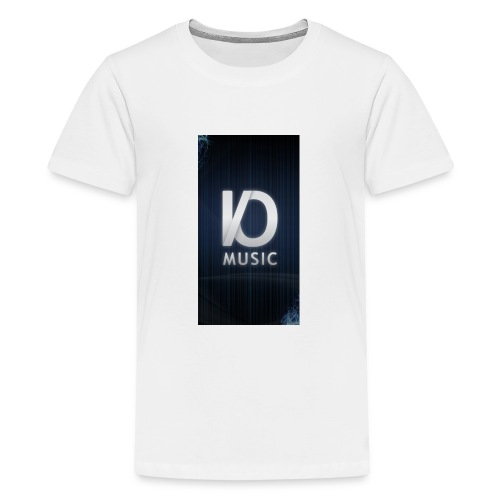 iphone6plus iomusic jpg - Teenage Premium T-Shirt