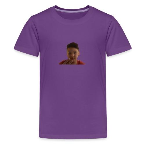 WIN 20170901 115015 burned 1 - Teenager Premium T-shirt