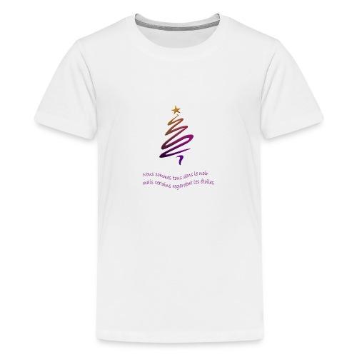 Citation étoile - T-shirt Premium Ado