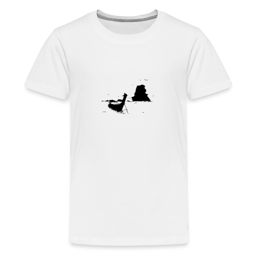 Boot Süd-Ost-Asien - Teenager Premium T-Shirt