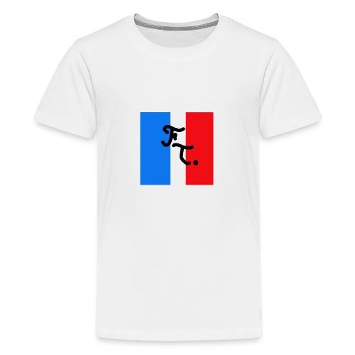 French togs logo - T-shirt Premium Ado