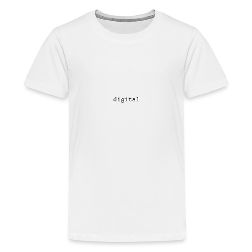 digital - T-shirt Premium Ado