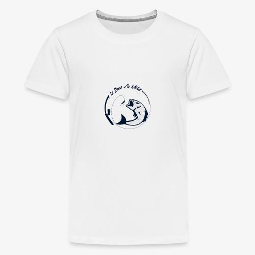 logo le bar au metre fond transparent - T-shirt Premium Ado