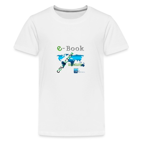 E-Book Collection - Camiseta premium adolescente