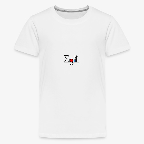 EIGHT LOGO - T-shirt Premium Ado