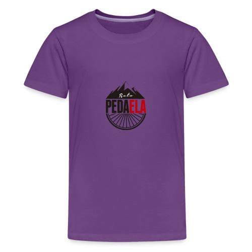 PEDAELA - Camiseta premium adolescente