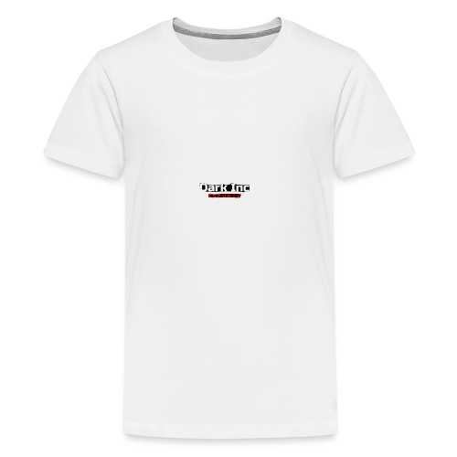 Dark Inc Text - Teenager premium T-shirt