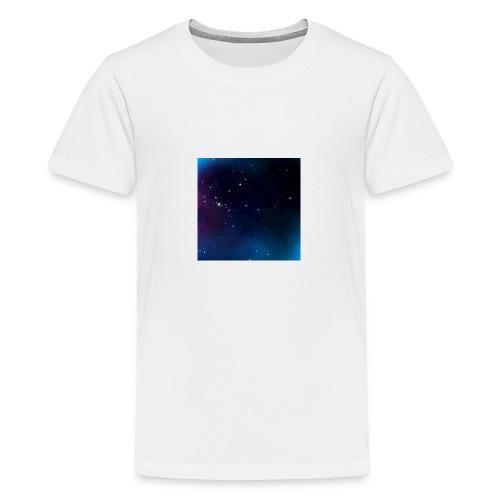 galaxy - Premium-T-shirt tonåring