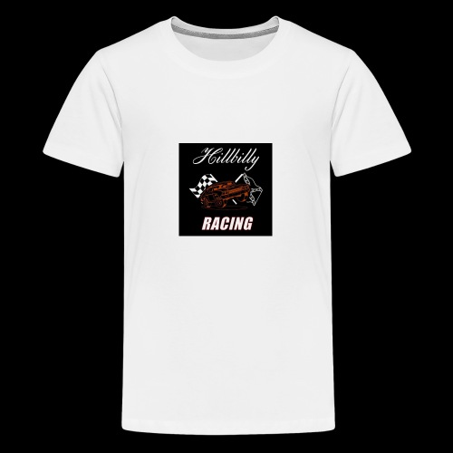 Hillbilly racing merchandise - Teenager Premium T-shirt