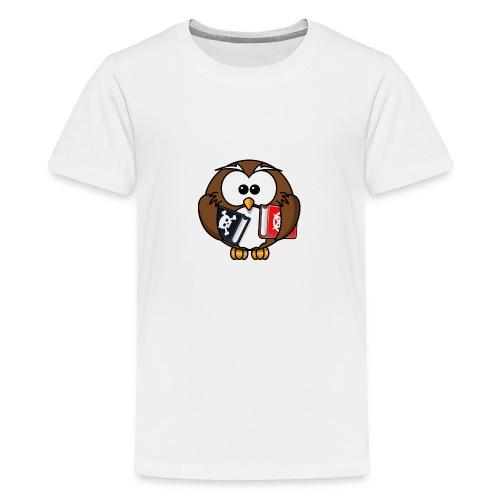 Lerning Owl - Teenager Premium T-Shirt