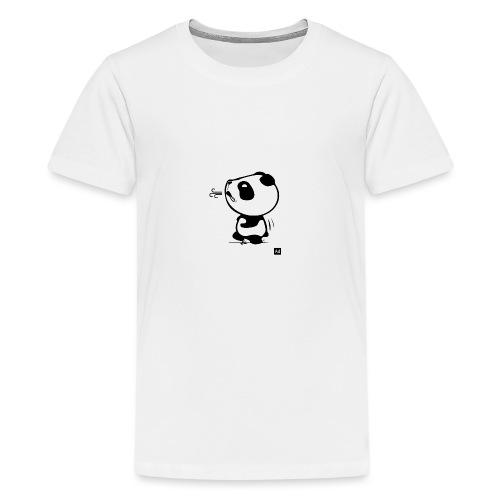 Panda run - T-shirt Premium Ado