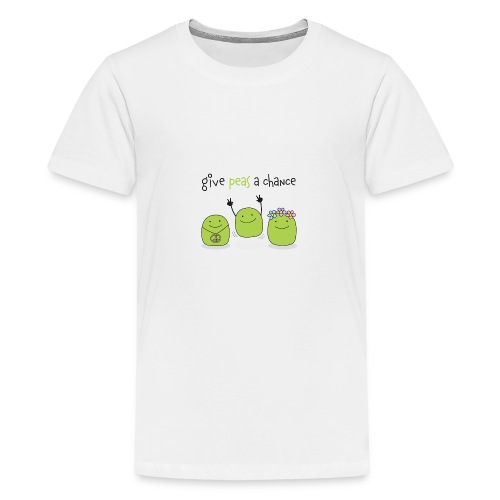 Give peas a chance! - Teenager Premium T-Shirt