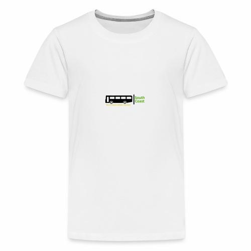 South Coast Bus Preservation Society Logo - Teenage Premium T-Shirt