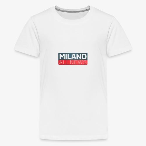 Milano AllNews Logo - Maglietta Premium per ragazzi