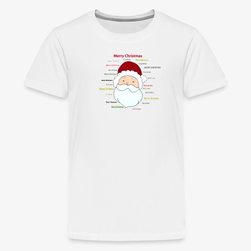 pere noel Merry x mas - Teenage Premium T-Shirt