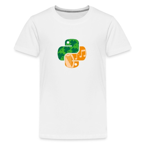 EuroPython 2020 - Color Snakes - Teenage Premium T-Shirt
