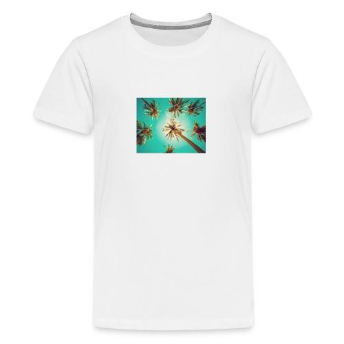 palm pinterest jpg - Teenage Premium T-Shirt
