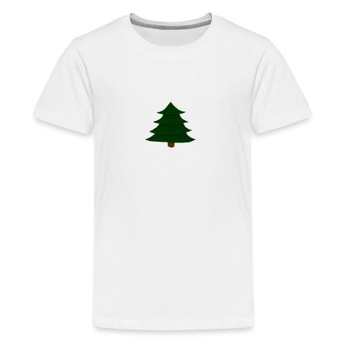 Prosta Choinka - Koszulka młodzieżowa Premium
