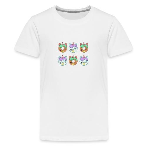 Unicorn Donut - Maglietta Premium per ragazzi