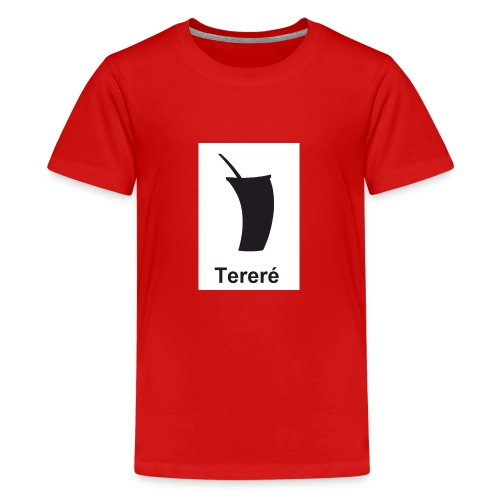 terere paraguayo - Camiseta premium adolescente