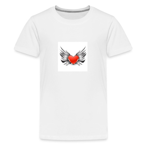 Heart Wings - T-shirt Premium Ado