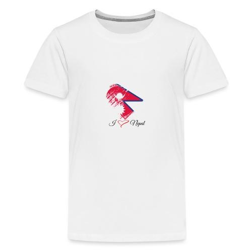 Nepali lovers - Teenage Premium T-Shirt