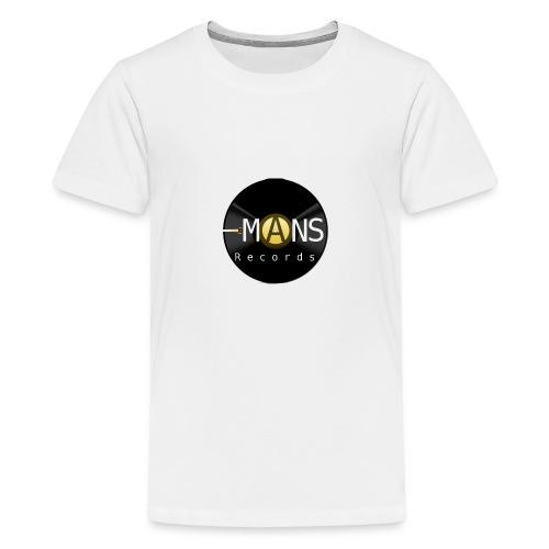 Logo MANS Records - Teenage Premium T-Shirt