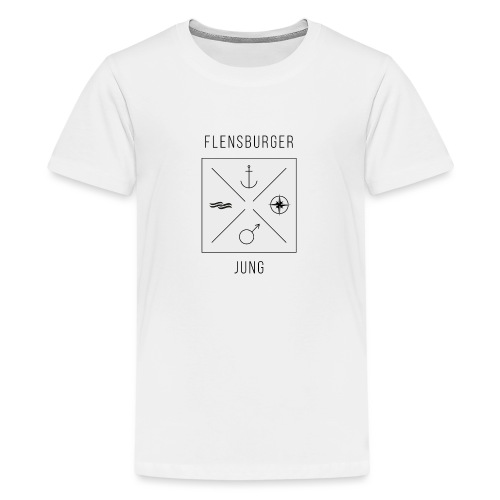 Flensburger Jung - Teenager Premium T-Shirt