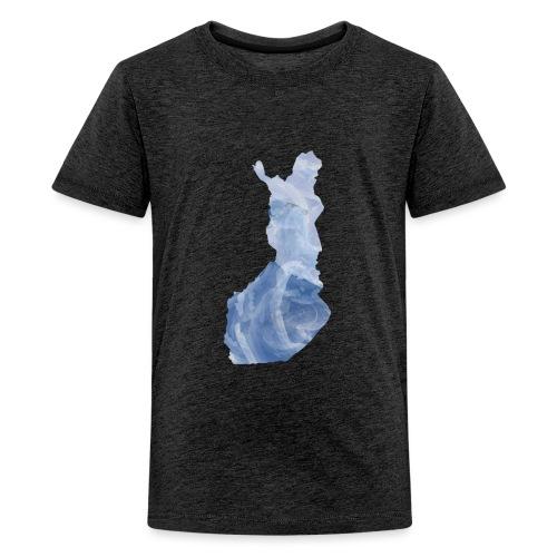 Suomi Finland - Teinien premium t-paita