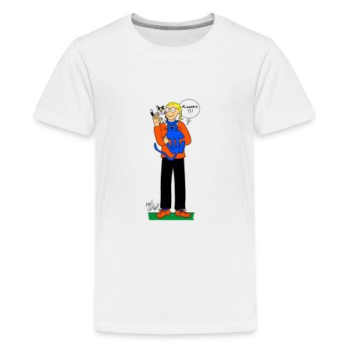 Khris-Léo et ses chats - T-shirt Premium Ado