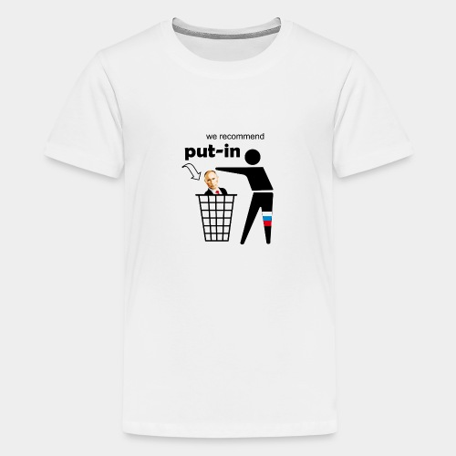 GHB Put in for recycling 190320182 - Teenager Premium T-Shirt