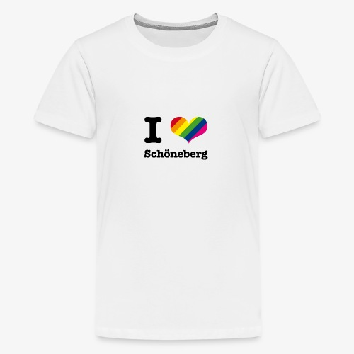 I love Schöneberg - Teenager Premium T-Shirt
