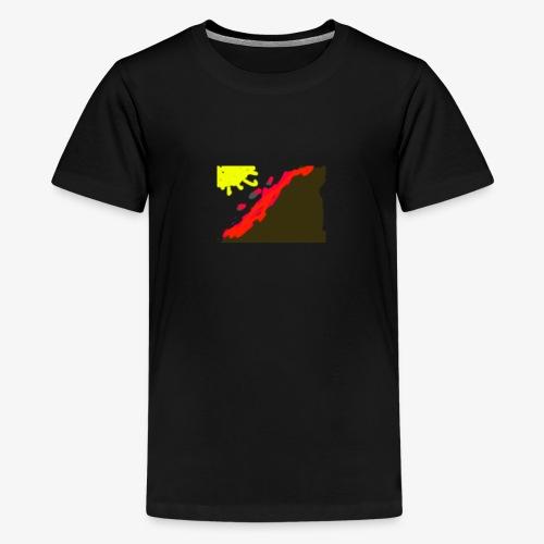 flowers - Teenager premium T-shirt