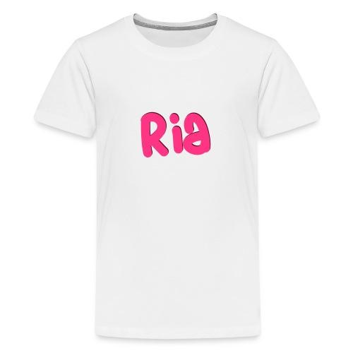 Ria Roo 3D - Teenage Premium T-Shirt