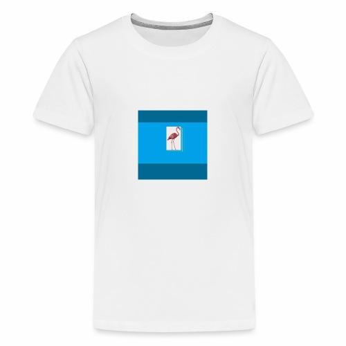 Flamingoscotteri - Maglietta Premium per ragazzi