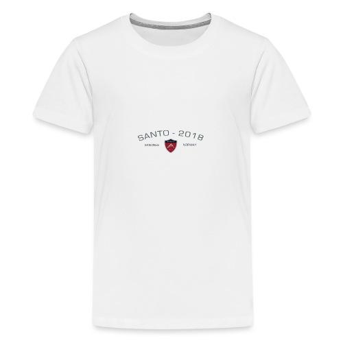 Santo 2018 - Premium T-skjorte for tenåringer