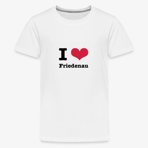 I love Friedenau - Teenager Premium T-Shirt