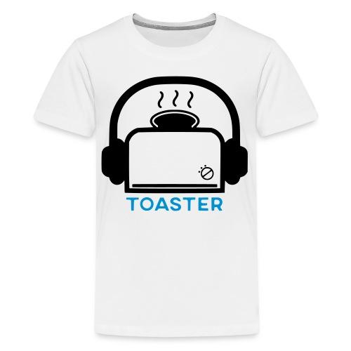 Toaster Logo - Teinien premium t-paita