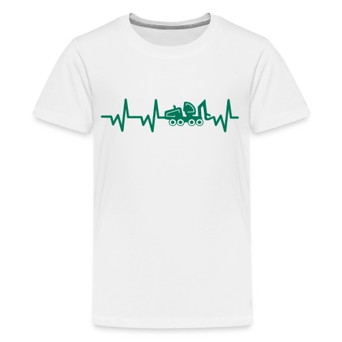 Forst | Herzschlag - Teenager Premium T-Shirt
