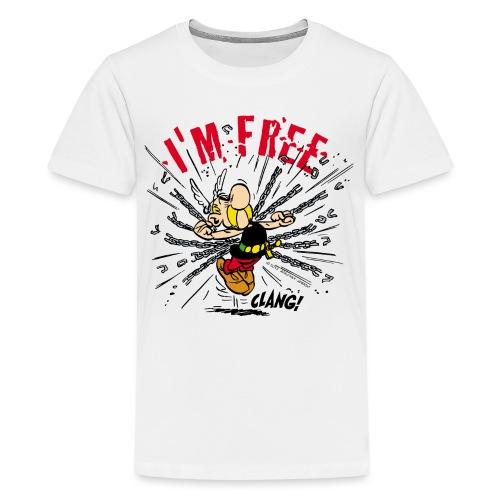 Asterix & Obelix - Asterix 'I'm Free' - T-shirt Premium Ado