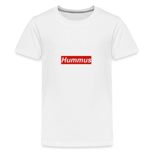 Hummus hoodie - Teenage Premium T-Shirt