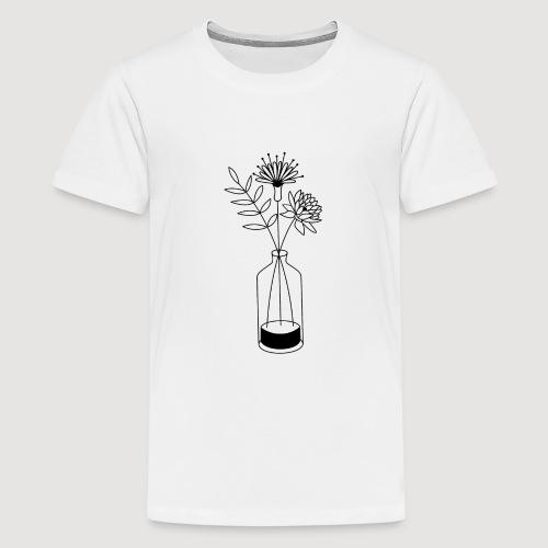 Flowers - T-shirt Premium Ado