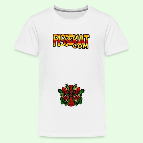 pisselogo - Premium T-skjorte for tenåringer