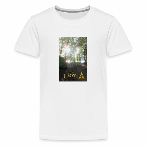camping - Teenager Premium T-shirt